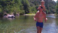 La Peyrarié - Balade les pieds dans l'eau au Gardon R
